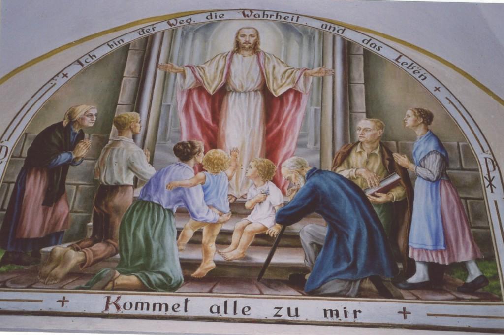 ANINA - Intrarea in biserica romano-catolica